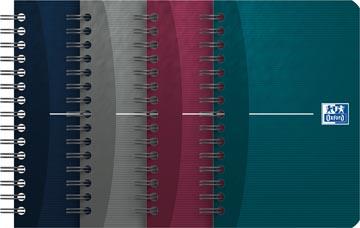 Oxford OFFICE Essentials spiraalblok, 180 bladzijden, ft 9 x 14 cm, geruit 5 mm
