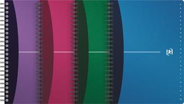 Oxford Office Urban Mix repertorium, 90 bladzijden, ft A5, geassorteerde kleuren