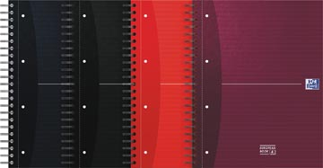 Oxford OFFICE Essentials european book, 240 bladzijden, ft A4+, geruit 5 mm