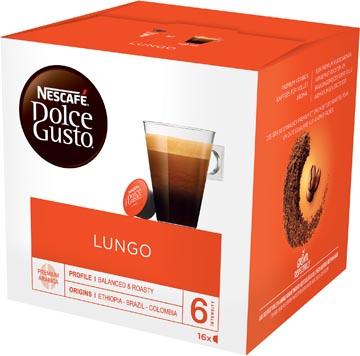Nescafé Dolce Gusto koffiecapsules, Lungo, pak van 16 stuks