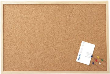 Maul kurkbord met houten frame ft 30 x 40 cm