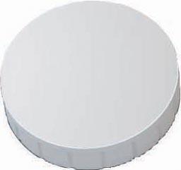 Maul magneet MAULsolid, diameter 32 x 8,5 mm, wit, doos met 10 stuks