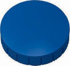 Maul magneet MAULsolid, diameter 32 x 8,5 mm, blauw, doos met 10 stuks