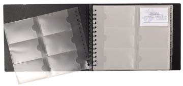 Exacompta Visitekaartenmap Exactive ft 20 x 25 cm, 240 insteektassen