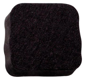 Naga magnetische bordenwisser voor glasborden, ft 5 x 5 x 3 cm